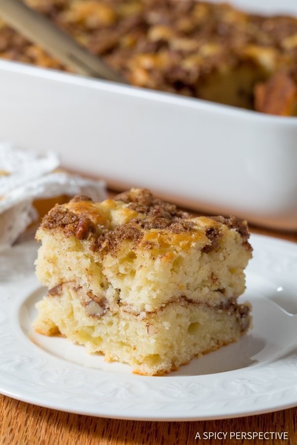Best-Ever Apple Spice Coffee Cake | ASpicyPerspective.com