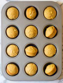 Apple Spice Cornbread Muffins Recipe | ASpicyPerspective.com