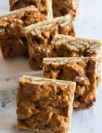 Caramel Pecan Pie Bars | ASpicyPerspective.com