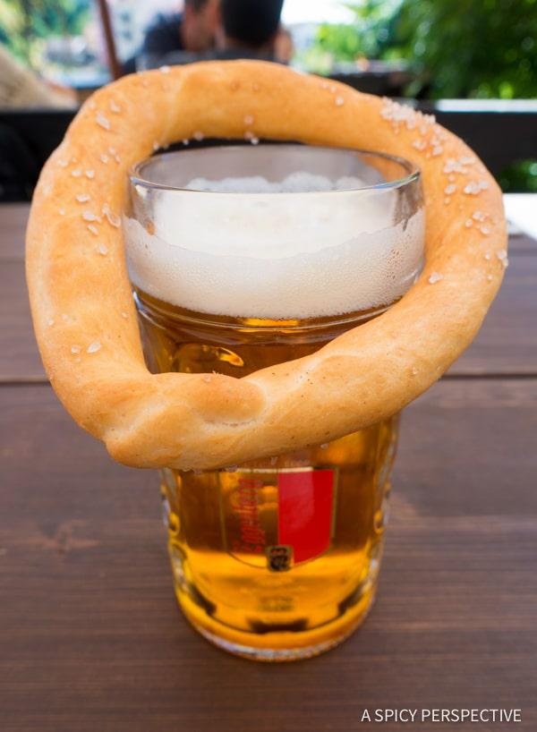Cesky Krumlov Lunch - Amazing Day Trips from Prague   ASpicyPerspective.com #travel #europe