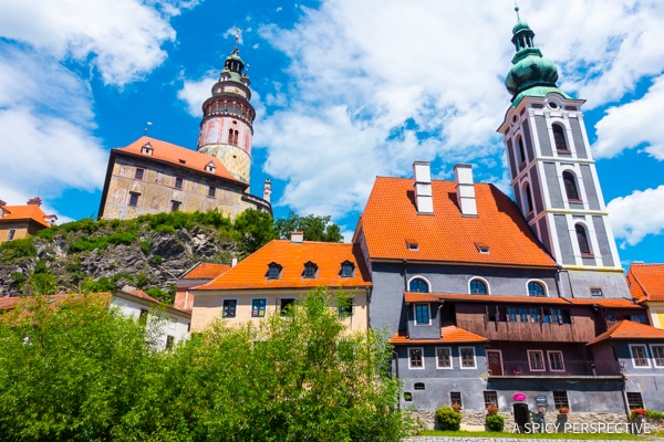 Cesky Krumlov Town - Amazing Day Trips from Prague | ASpicyPerspective.com #travel #europe