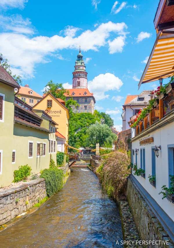 Cesky Krumlov - Amazing Day Trips from Prague | ASpicyPerspective.com #travel #europe