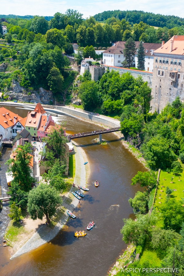 Visit Cesky Krumlov - Amazing Day Trips from Prague | ASpicyPerspective.com #travel #europe