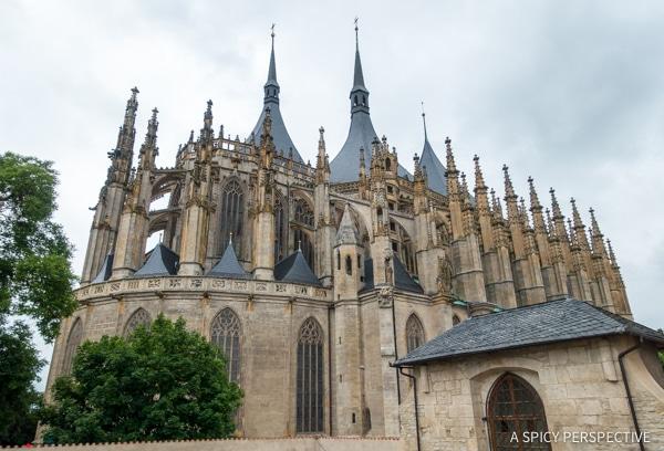 Saint Barbara - Amazing Day Trips from Prague   ASpicyPerspective.com #travel #europe