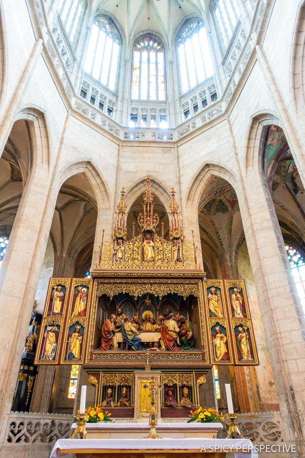 St Barbarba Cathedral - Amazing Day Trips from Prague | ASpicyPerspective.com #travel #europe