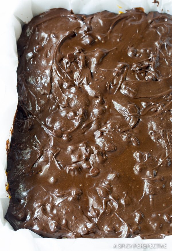 Gooey Caramel Stuffed Brownies - A Spicy Perspective