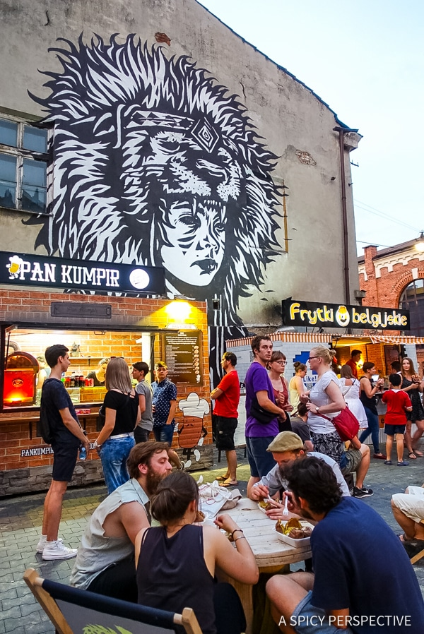 Food Trucks - Top 10 Reasons to Visit Krakow, Poland | ASpicyPerspective.com #travel