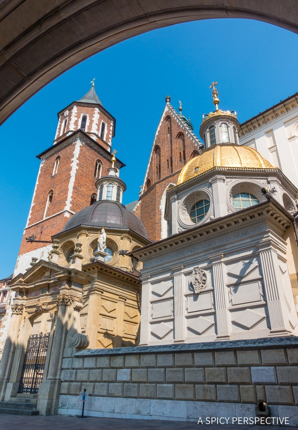 Wawel - Top 10 Reasons to Visit Krakow, Poland | ASpicyPerspective.com #travel