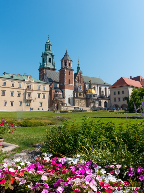 Wawel Castle - Top 10 Reasons to Visit Krakow, Poland | ASpicyPerspective.com #travel