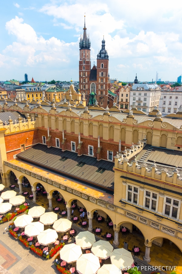 Views - Top 10 Reasons to Visit Krakow, Poland | ASpicyPerspective.com #travel