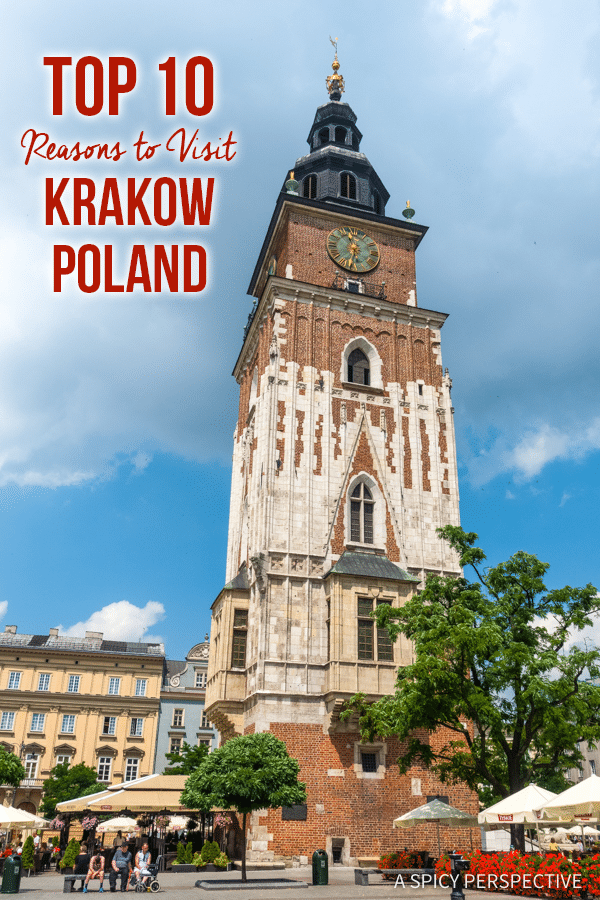 Top 10 Reasons to Visit Krakow, Poland | ASpicyPerspective.com #travel