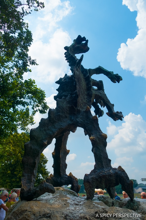 Wawel Dragon - Top 10 Reasons to Visit Krakow, Poland | ASpicyPerspective.com #travel
