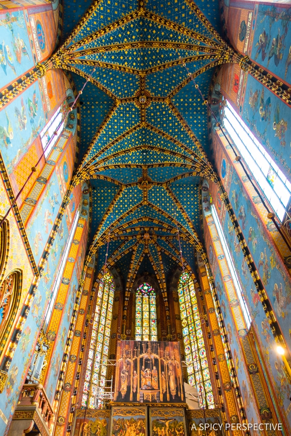 St. Mary's - Visit Krakow, Poland | ASpicyPerspective.com #travel