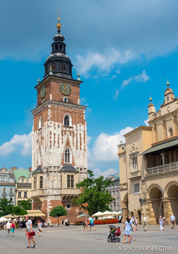 City Square - Top 10 Reasons to Visit Krakow, Poland | ASpicyPerspective.com #travel