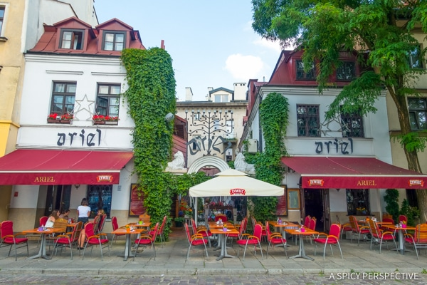 Jewish Quarter - Top 10 Reasons to Visit Krakow, Poland | ASpicyPerspective.com #travel