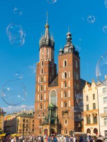 City Square - Top 10 Reasons to Visit Krakow, Poland | ASpicyPerspective.com #travel