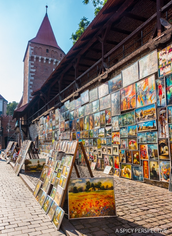 St. Florian's Gate - Top 10 Reasons to Visit Krakow, Poland | ASpicyPerspective.com #travel