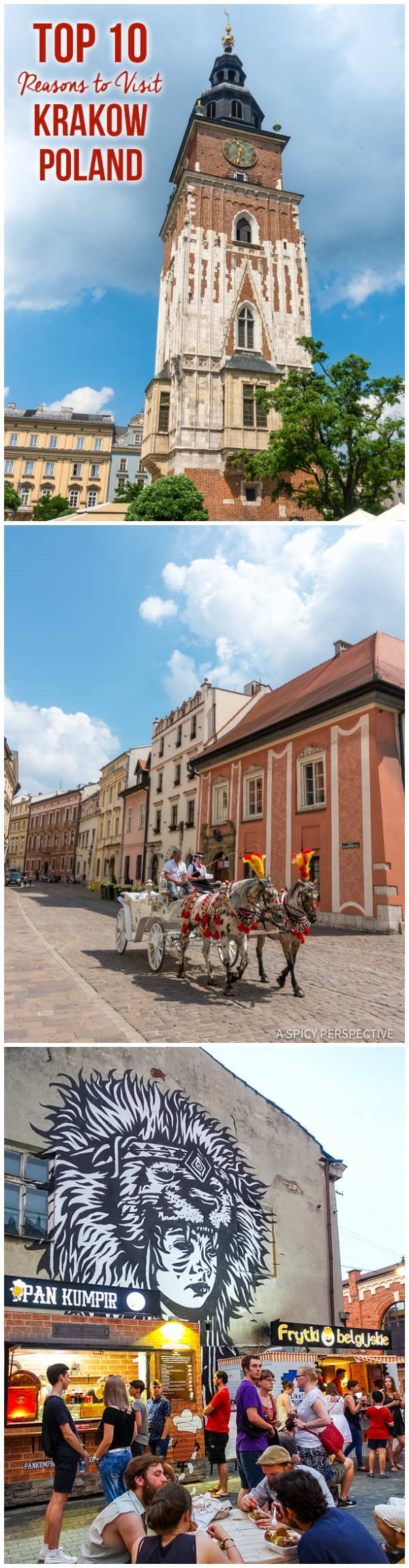 Best 10 Reasons to Visit Krakow, Poland | ASpicyPerspective.com #travel