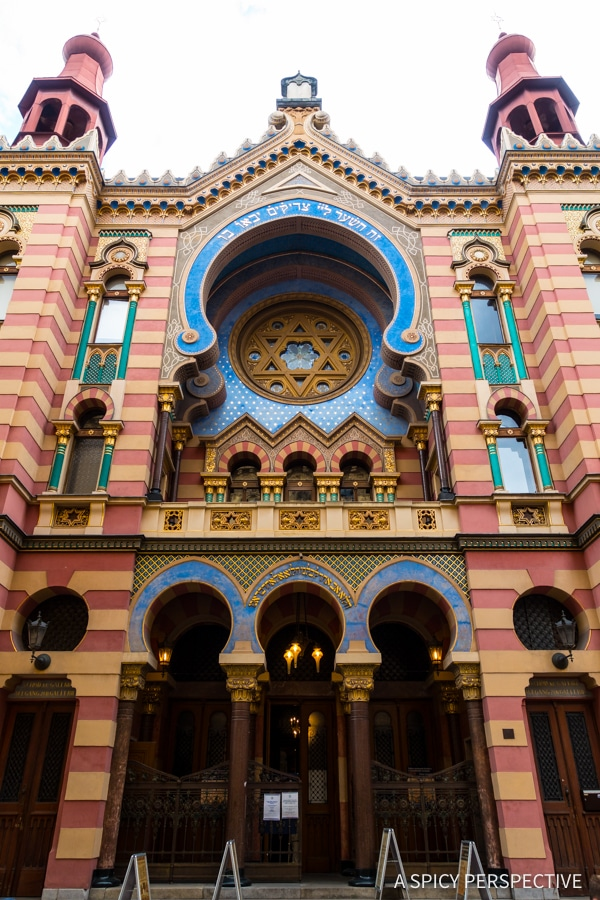 Jerusalem Synagogue - Top 10 Reasons to Visit Prague, Czech Republic | ASpicyPerspective.com #travel #europe