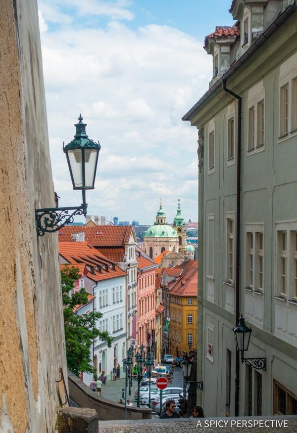 Castle Steps - Top 10 Reasons to Visit Prague, Czech Republic | ASpicyPerspective.com #travel #europe