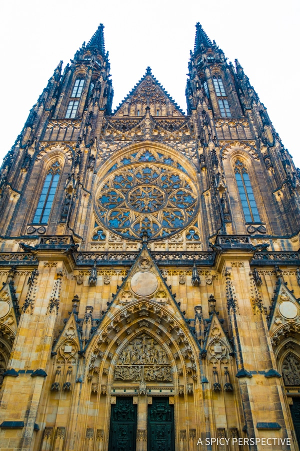 Saint Vitus Church - Top 10 Reasons to Visit Prague, Czech Republic | ASpicyPerspective.com #travel #europe
