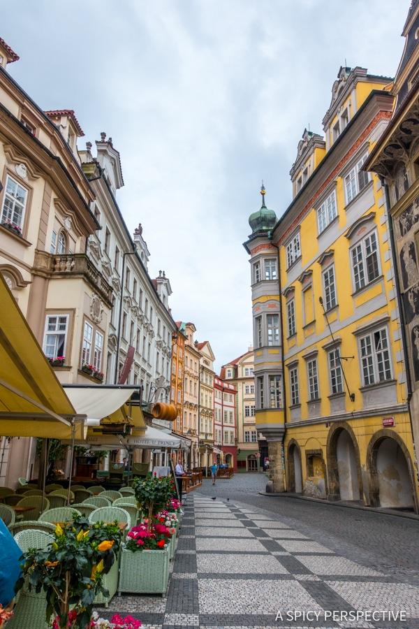 Charming Streets - Top 10 Reasons to Visit Prague, Czech Republic | ASpicyPerspective.com #travel #europe