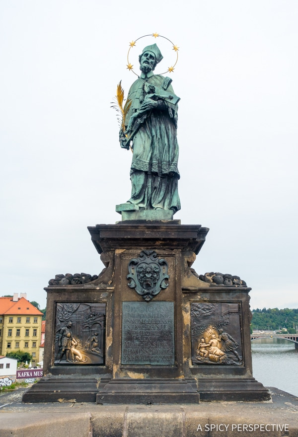 St Charles Bridge - Top 10 Reasons to Visit Prague, Czech Republic | ASpicyPerspective.com #travel #europe