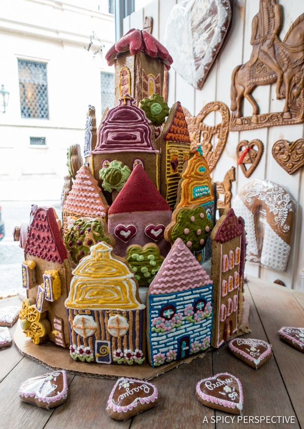 Gingerbread - Top 10 Reasons to Visit Prague, Czech Republic | ASpicyPerspective.com #travel #europe