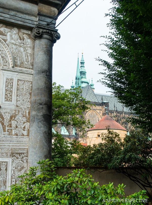 Prague Castle - Top 10 Reasons to Visit Prague, Czech Republic | ASpicyPerspective.com #travel #europe