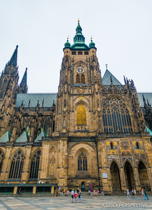 Saint Vitus Cathedral - Top 10 Reasons to Visit Prague, Czech Republic | ASpicyPerspective.com #travel #europe