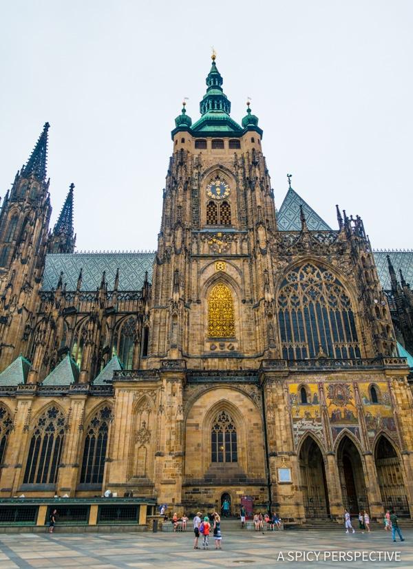 Saint Vitus Cathedral - Top 10 Reasons to Visit Prague, Czech Republic | ASpicyPerspective.com #travel #europe
