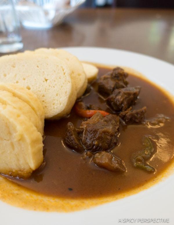 Lunch - Top 10 Reasons to Visit Prague, Czech Republic | ASpicyPerspective.com #travel #europe