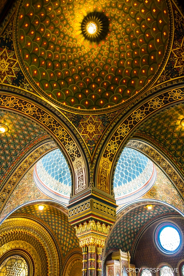 The Spanish Synagogue - Top 10 Reasons to Visit Prague, Czech Republic | ASpicyPerspective.com #travel #europe