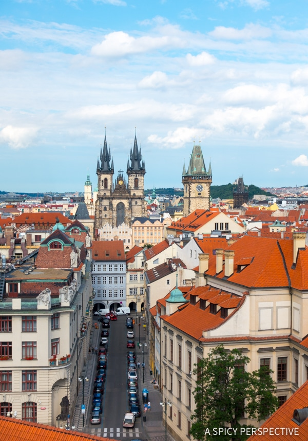 Big Views - Top 10 Reasons to Visit Prague, Czech Republic | ASpicyPerspective.com #travel #europe