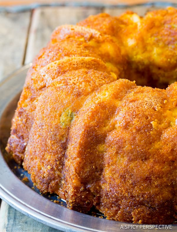 Zesty Taco Mac and Cheese Bundt Recipe | ASpicyPerspective.com