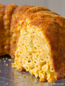 Taco Mac and Cheese Bundt Recipe | ASpicyPerspective.com
