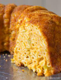 Taco Mac and Cheese Bundt Recipe | ASpicyPerspective.com