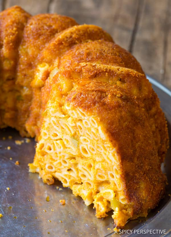 Fabulous Taco Mac and Cheese Bundt Recipe | ASpicyPerspective.com