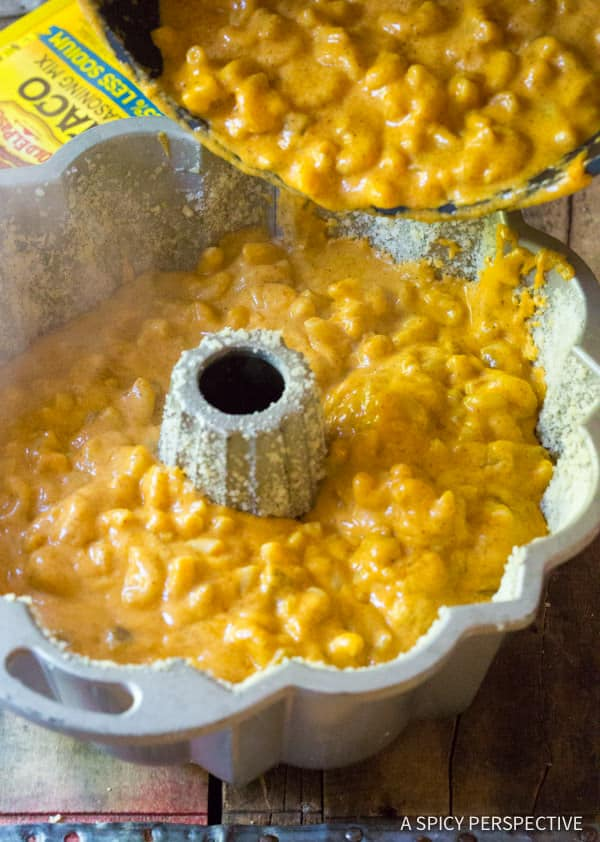 Amazing Taco Mac and Cheese Bundt Recipe | ASpicyPerspective.com