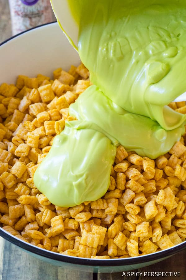 How to Make 3-Ingredient Monster Teeth Recipe for Halloween!   ASpicyPerspective.com