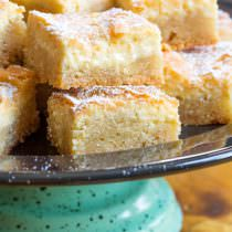 The Best Gooey Butter Cake Recipe From Scratch (Similar to Chess Squares and Philadelphia Style Cake) #holidays #christmas