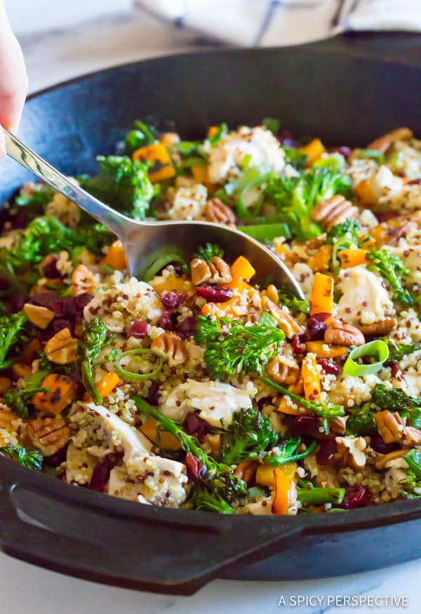 Chicken Broccoli Quinoa Skillet - Page 2 of 2 - A Spicy ...
