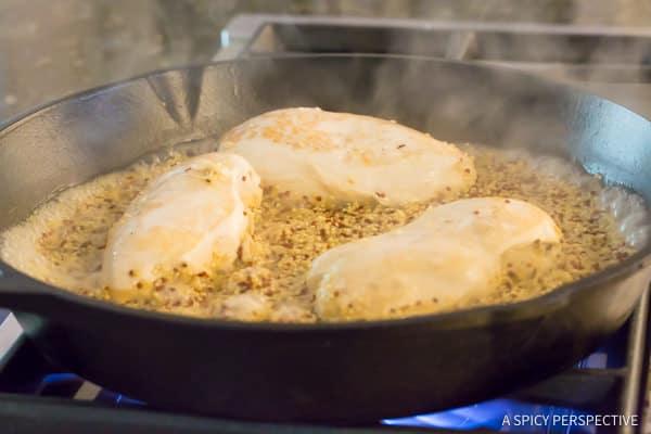 Make this Healthy One-Pot Chicken Broccoli Quinoa Skillet Recipe   ASpicyPerspective.com