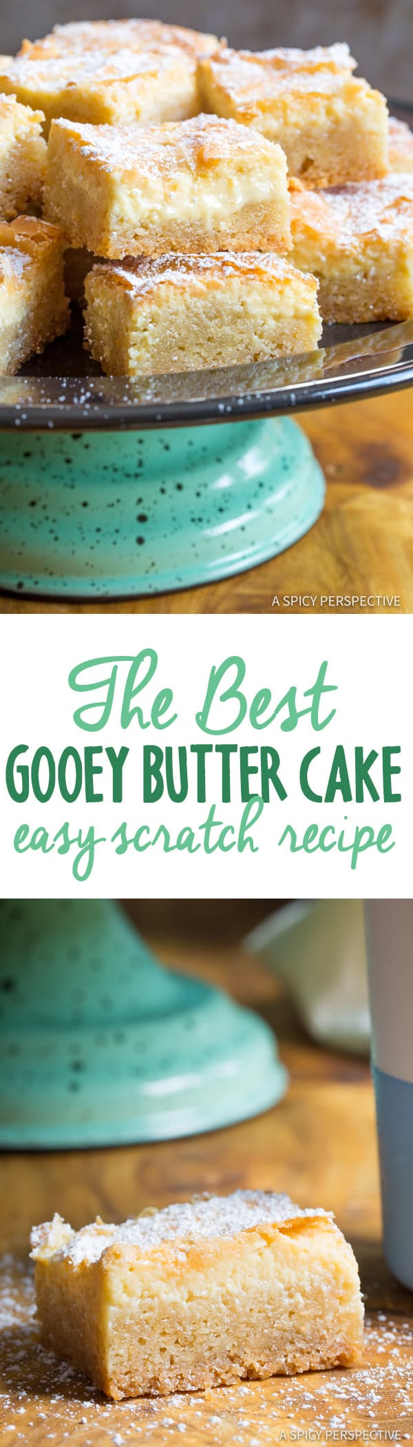 Say hello to The Best Gooey Butter Cake Recipe (From Scratch) we've ...