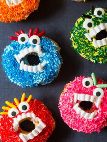 Halloween Monster Donuts | ASpicyPerspective.com