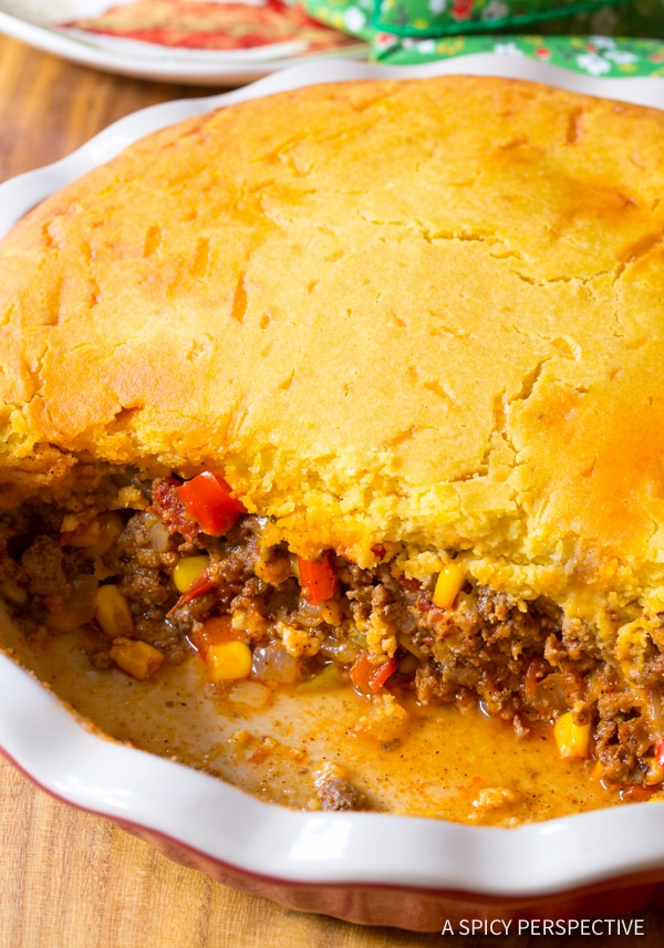 Must-Try Perfect Tamale Pie Recipe - Easy to Make and Gluten Free! | ASpicyPerspective.com