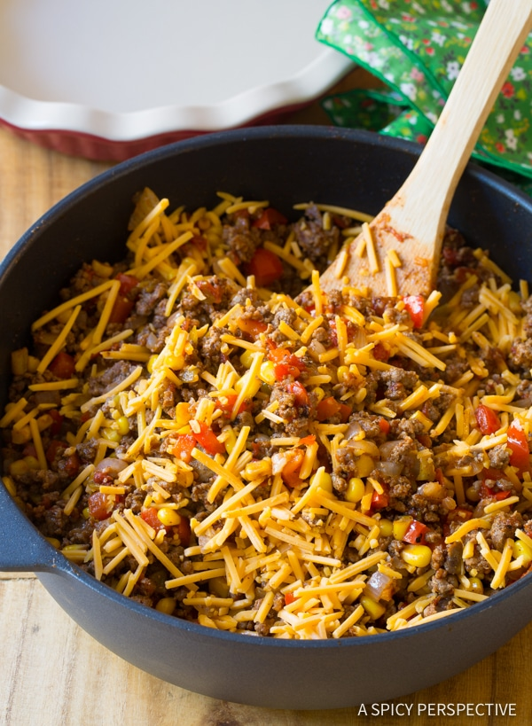 How to Make Perfect Tamale Pie Recipe - Easy to Make and Gluten Free! | ASpicyPerspective.com