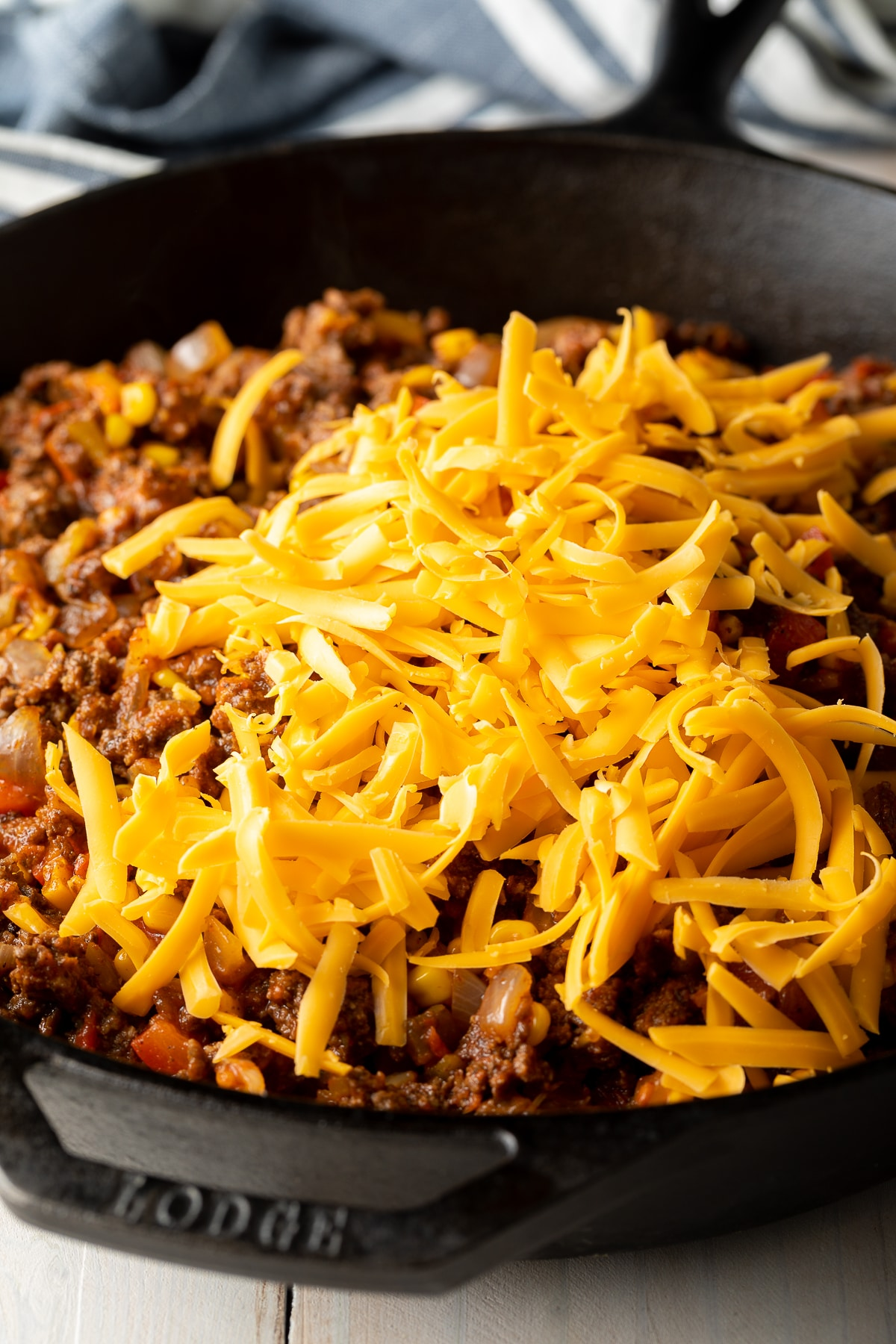 Gluten Free Tamale Pie Recipe - Easy to Make and Gluten Free! #tamales #tamalepie #glutenfreedinner #glutenfreerecipe #aspicyperspective
