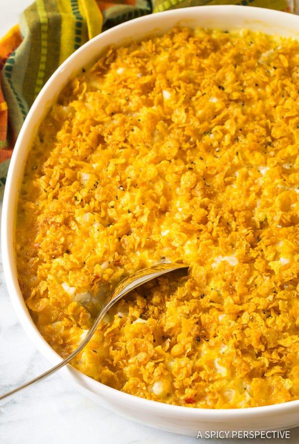 Crowd Pleasing 7-Ingredient Company Potatoes Recipe   ASpicyPerspective.com
