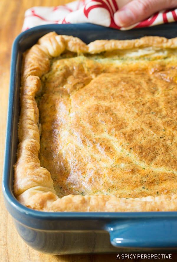 Fluffy 5-Ingredient Omelette Bake